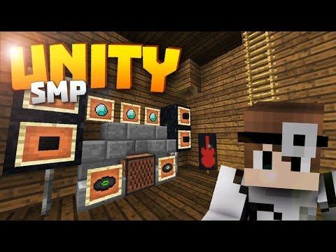 Minecraft Realms! - Unity SMP S2 Ep. 8 - A GIFT FOR THE DOC! ♥