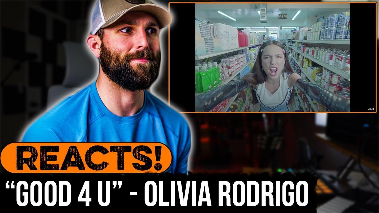"MUSICIAN REACTS to Olivia Rodrigo - ""good 4 u"""