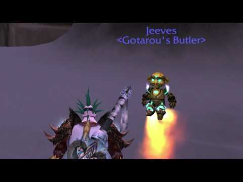 How to Get Jeeves, the New Engineering Butler Bot, in World of Warcraft!