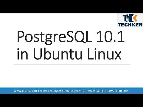 How to Install PostgreSQL 10 on Ubuntu Linux