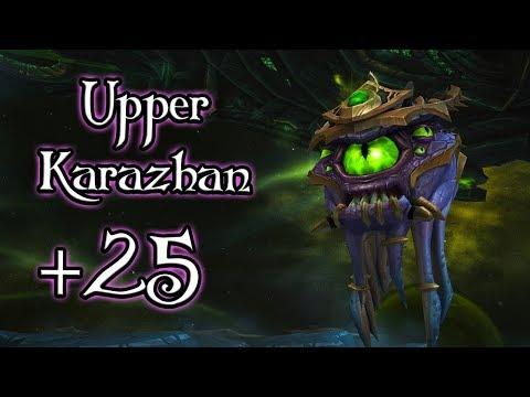 Upper Karazhan +25 (World of Warcraft 7.3.5)