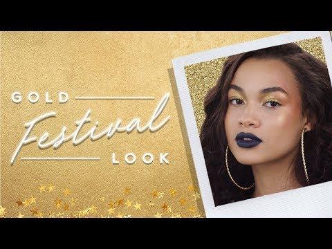 GOLD FESTIVAL LOOK | FENTY BEAUTY