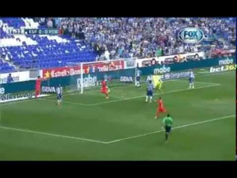 Barcelona vs Español hightlighs ( 2 - 0 )  4 / 25 / 2015