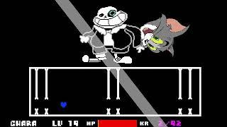 Undertale Ultra Sans Fight (April Fools Game) - DO U WANN HAV BAD TOM?!?!?!!?!?!?!??!?