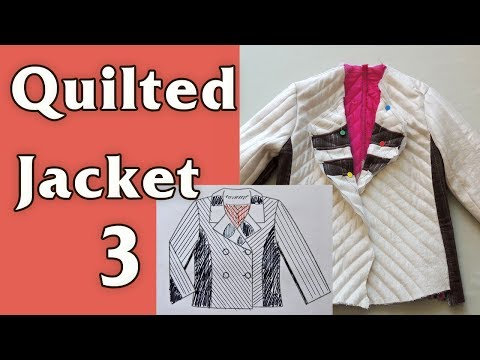 Quilted jacket, part 3/4