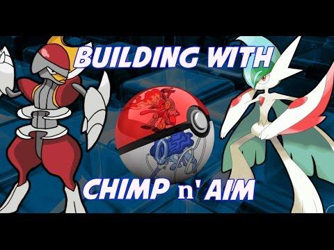 Building with chimp n' aim #1 - Mega Gallade + Bisharp