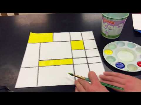 Painting your Mondrian