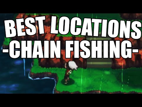 Best Chain Fishing Locations Omega Ruby Alpha Sapphire - Where to Chain Fish ORAS