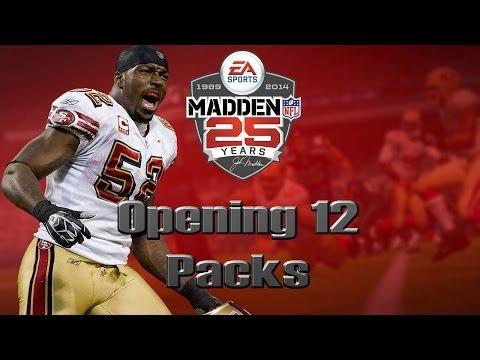 Madden 25 Ultimate Team | Opening 12 Packs