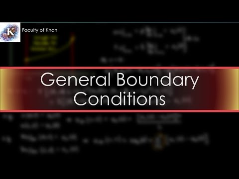 Solving the 1-D Heat/Diffusion PDE: General Nonhomogenous Boundary Conditions