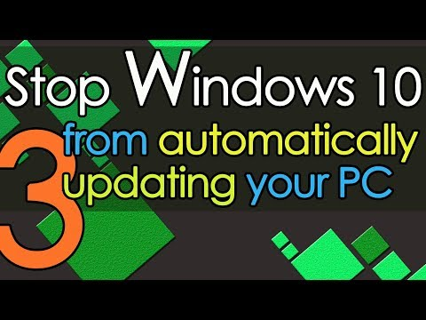 Stop Windows 10 from automatically updating your PC method 3