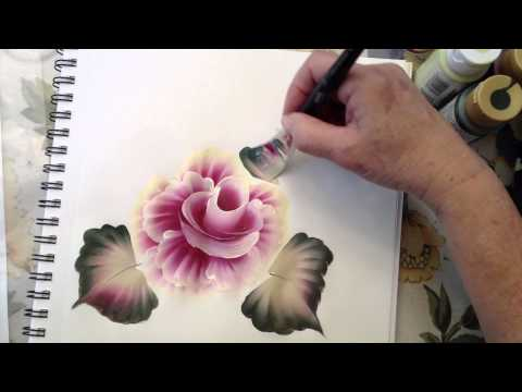 One Stroke Painting: How To Use the Angle Brush.m4v