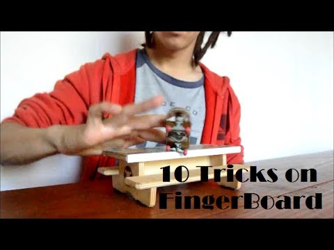 10 Tricks on the FingerBoard #1 (Picnic Table)