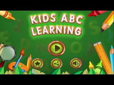 Kids ABC Learning and Writing Educational Game | How to Writing Alphabet Game?