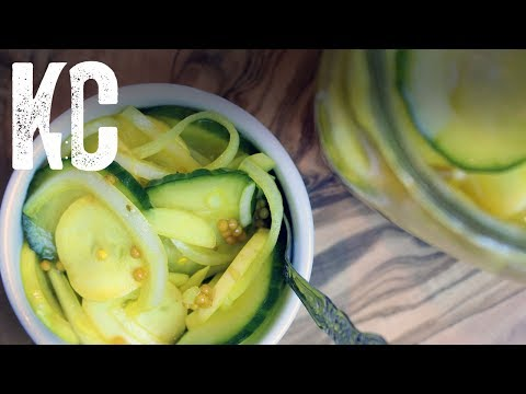 Bread and Butter Quick Pickles | Recipe and How To