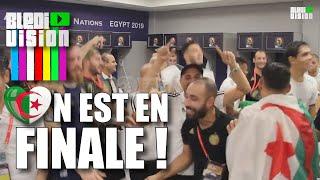 Algérie ⚽ Nigéria - Ambiance d