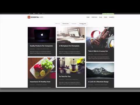 Essential Grid WordPress Plugin - The Masonry Grid Layout
