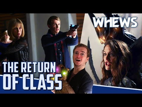 CLASS Is Back & DOCTOR WHO Goes LIVE | Whews