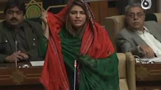 Heated Argument between MPAs Imdad Pitafi and Nusrat Sehar in Sindh Assembly