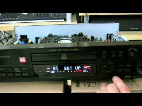 How to burn regular computer grade CD-R/CD-RW with Pioneer PDR-609