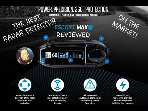 BEST Radar Detector On The Market Review - Escort Max 360