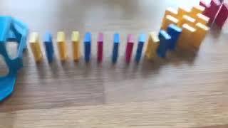 Domino med 85 brickor.