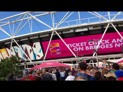 IAAF World Athletics Championships. London 2017. Scenes from outside of the stadium.