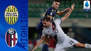 Hellas Verona 1-1 Bologna | 10 Man Verona Clinch A Draw With Stunning Freekick | Serie A