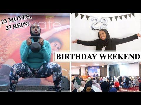 MY 23RD BDAY, ISLAMIC YOUTH NIGHT + FASTING WORKOUT ROUTINE | The Ramadan Daily | Aysha Abdul
