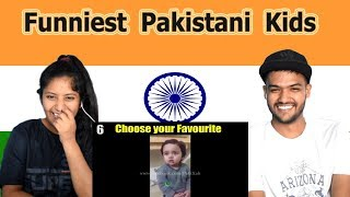 Indian reaction on Funniest Pakistani Kids | Swaggy d