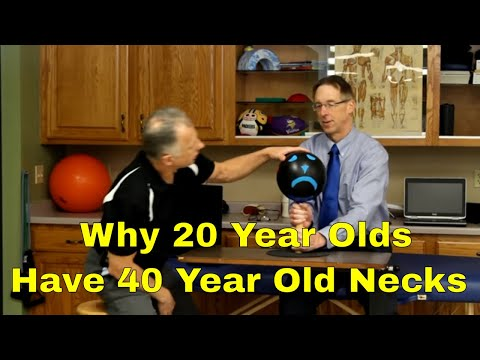 Why 20 Year Olds Have 40 Year Old Necks. What to DO.