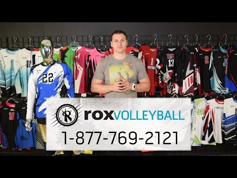 Sublimated Jerseys, Team Uniforms by Rox Volleyball