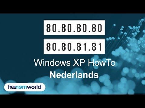 Freenom World Windows XP HowTo (Nederlands)