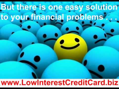 Get Your Low Interest Rate Credit Card Today !