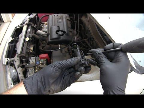 MAF Sensor Cleaning Toyota Corolla 1998 - 2002