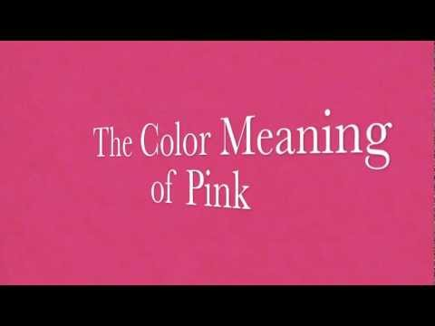 Color Meanings Pink Mood Symbolism For