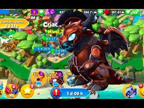 Dragon Mania Legends comprando Dragon de Ares 6500 gemas Ares -- DML getting Ares