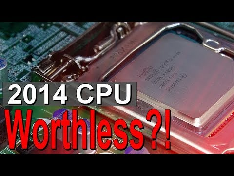 Intel i3-4160 -- Worthless Already in 2018?