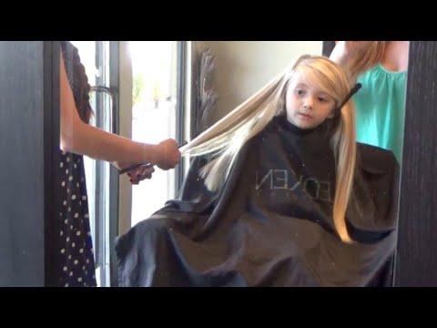 Lilia's FIRST Haircut!!
