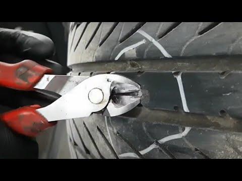 Como reparar rueda llanta pinchada en menos de 5 minutos