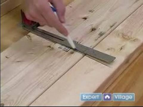 How to Build a Sawhorse : How to Cut the Legs For a Sawhorse