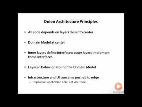 Onion architecture design for web applications in C# | Pluralsight