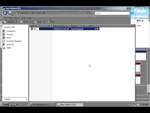 Create Mirrored Volume (RAID 1) in Windows OS
