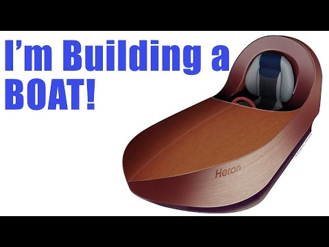 I'm Building a Plywood Boat - Micro Electric Powered Craft with 86lb Thrust 18650 Electric Motor