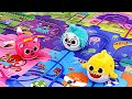Baby Shark Melody Wayfinding Puzzle Play With Pinkfong Hogi PinkyPopTOY