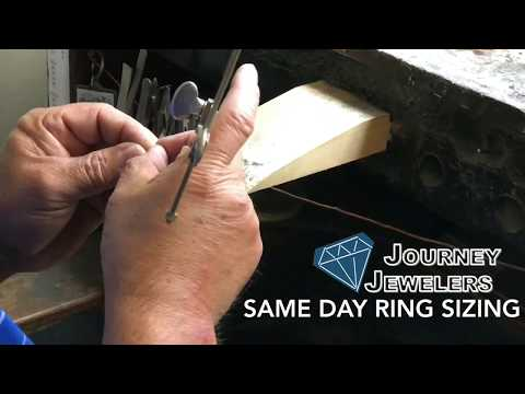 How a jeweler repairs a diamond engagement ring