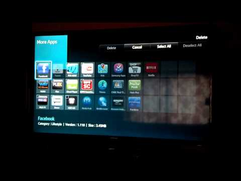 How to Delete Apps on Samsung TV