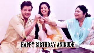 Anirudh Dave's birthday celebrations with co-stars Paridhi Sharma & Sandhya Shungloo | EXCLUSIVE