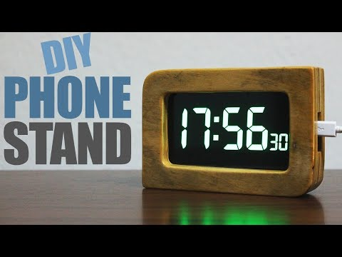 How to make a phone stand - Wooden Phone Stand