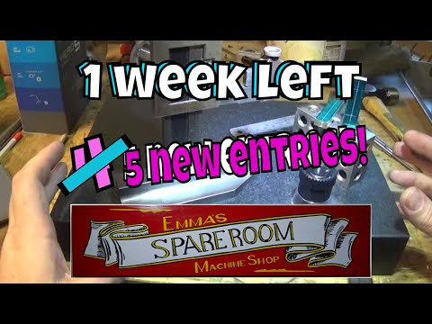 ONE WEEK LEFT! 5 entries and a prize video!